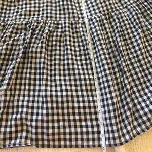Old Navy Dresses - Old Navy Black & White Plaid Maxi Dress Sz L